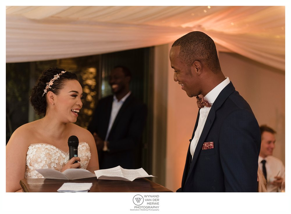 Yannick and Crystal's wedding at Memoire