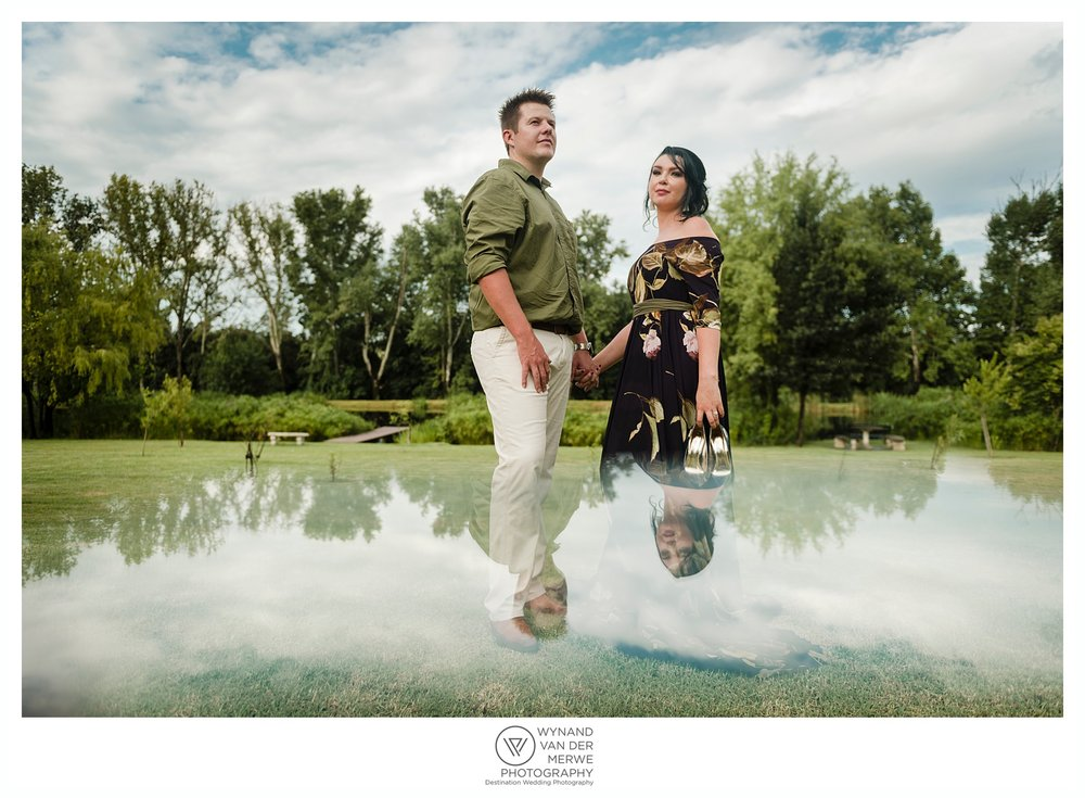 George and Charlene's beautiful engagement shoot
