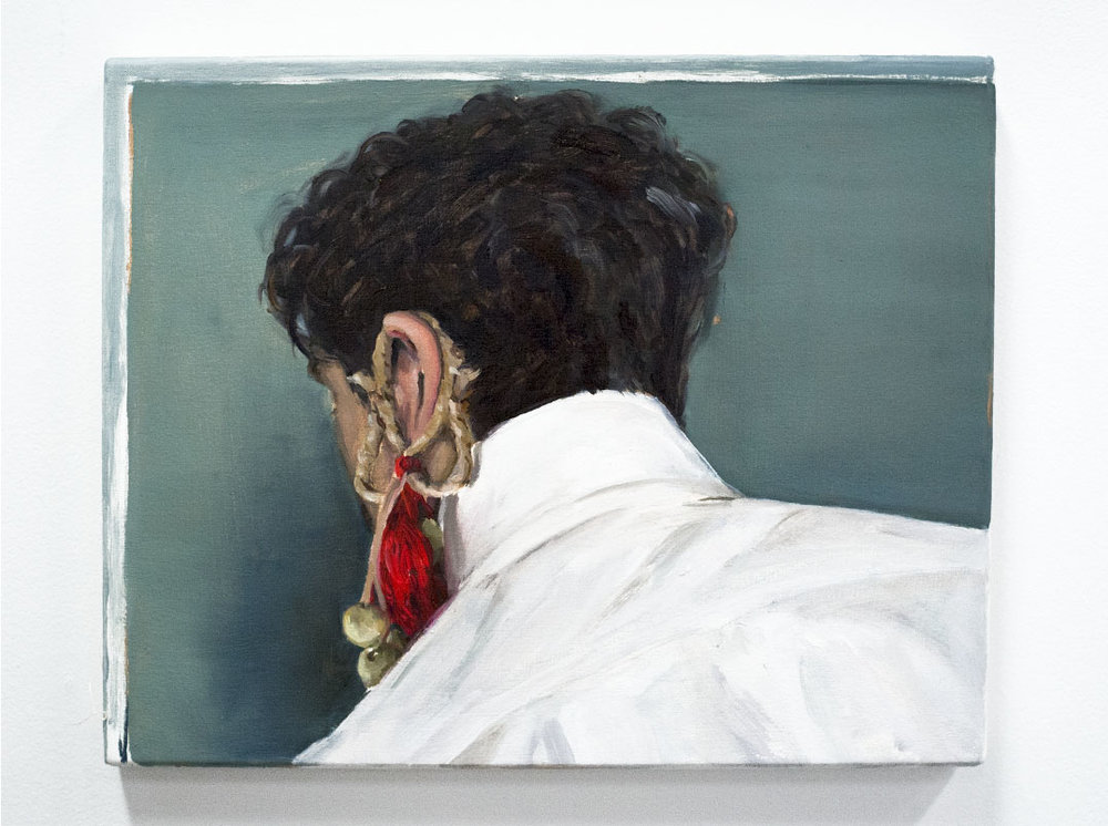 Dis-remembering , o  il on canvas, 2016