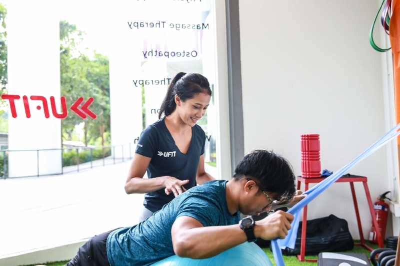 A physiotherapist can help to assess and correct your posture and functional movements.