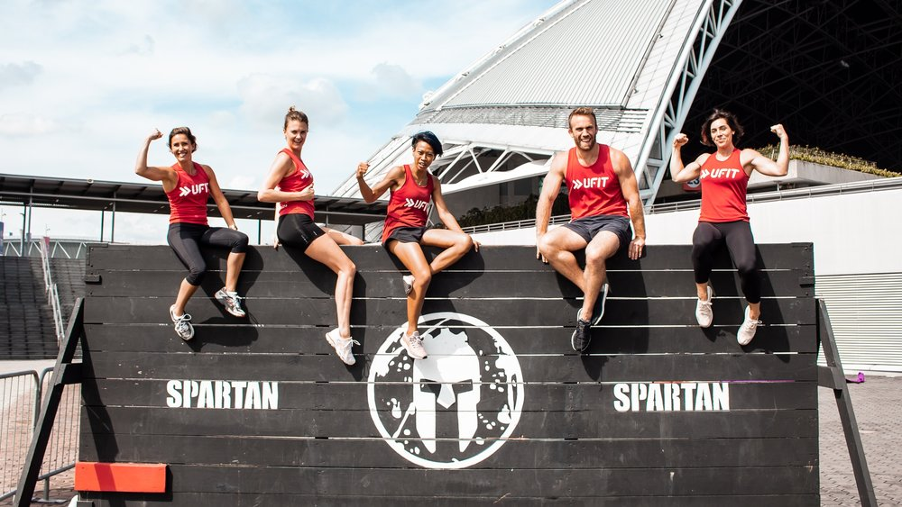 Spartan pop-up