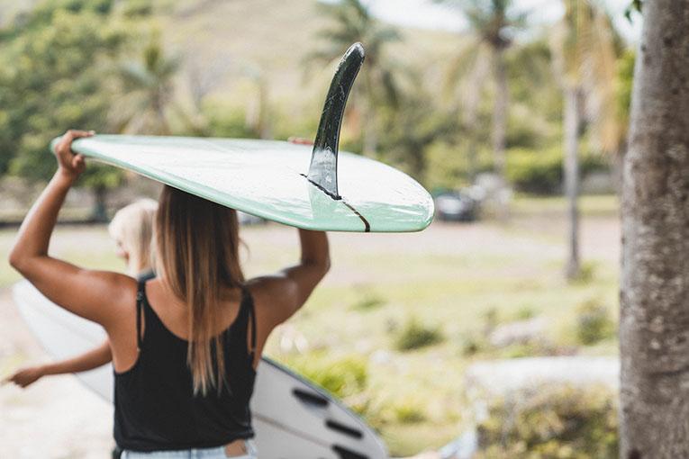 surf camp & surf lessons Kuta lombok indonesia - tanjung aan beach
