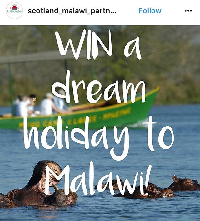 Our friends @scotland_malawi_partnership are giving YOU the chance to #win a #holiday to #Malawi - we love this! You can buy #lostmalawi tea from @rareteacompany where a % of revenue from tea sales goes to us to help young people progress their tertiary education. What's not to love! #directtrade #directcharity #rarecharity #rareteacompany #buymalawian2017 #getinvolved #dotherightthing