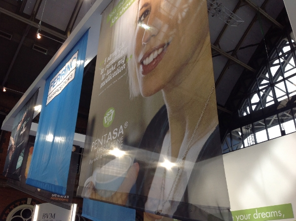 exhibition stand printed banners