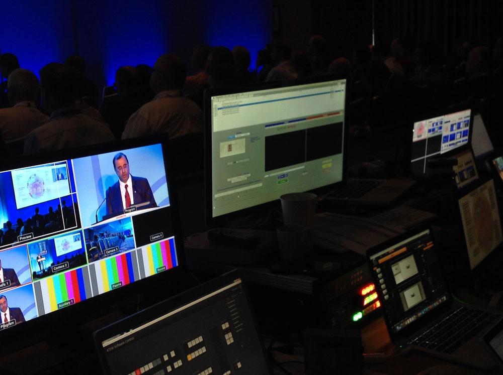 live event control desk