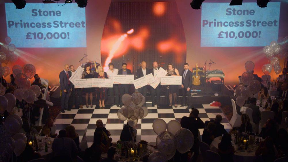corporate awards live event