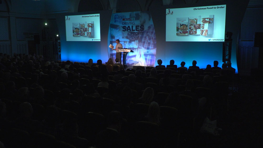 corporate conference production