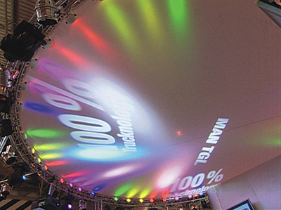 exhibition lighting and graphics