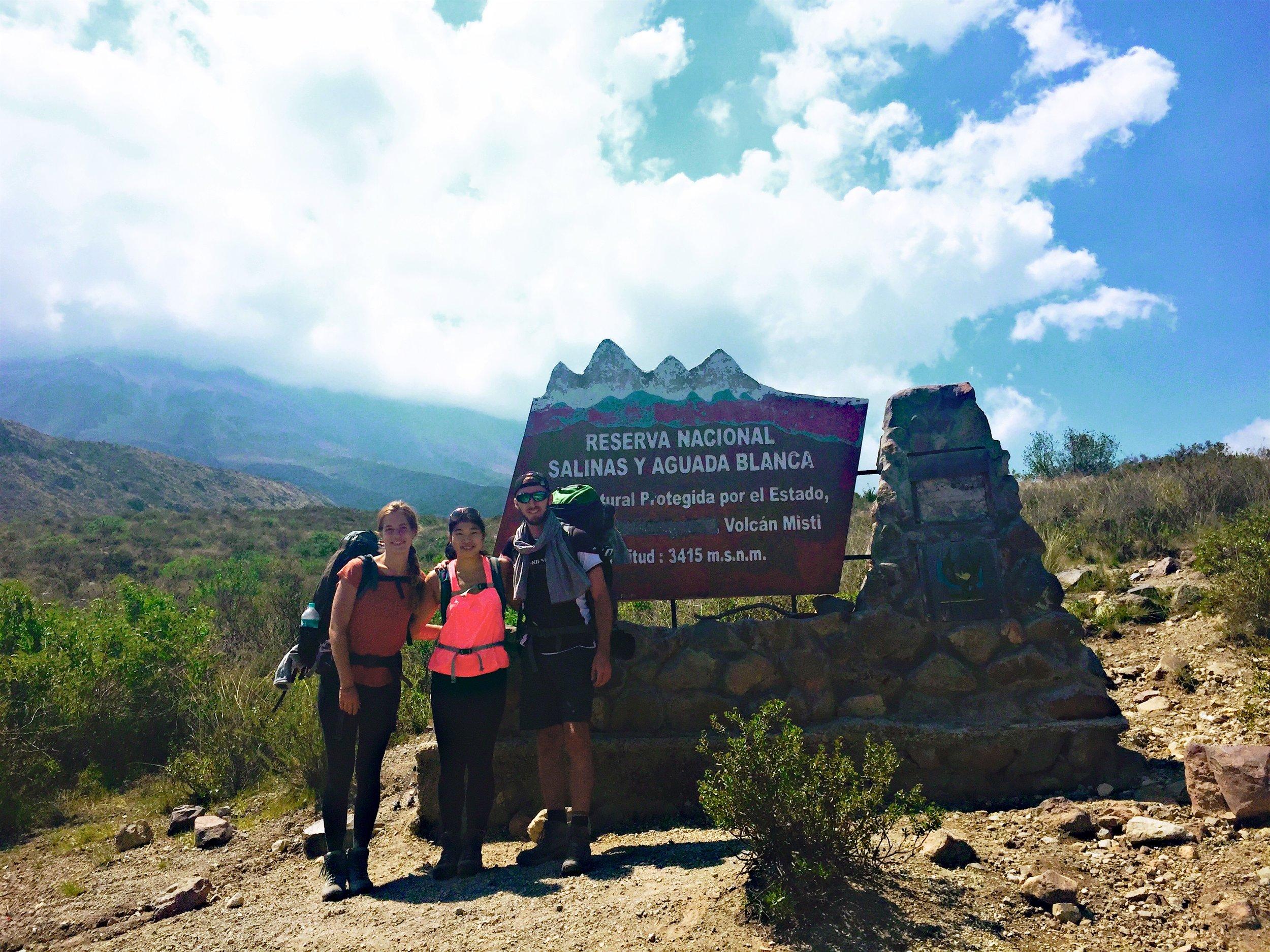 Base of El Misti Volcano