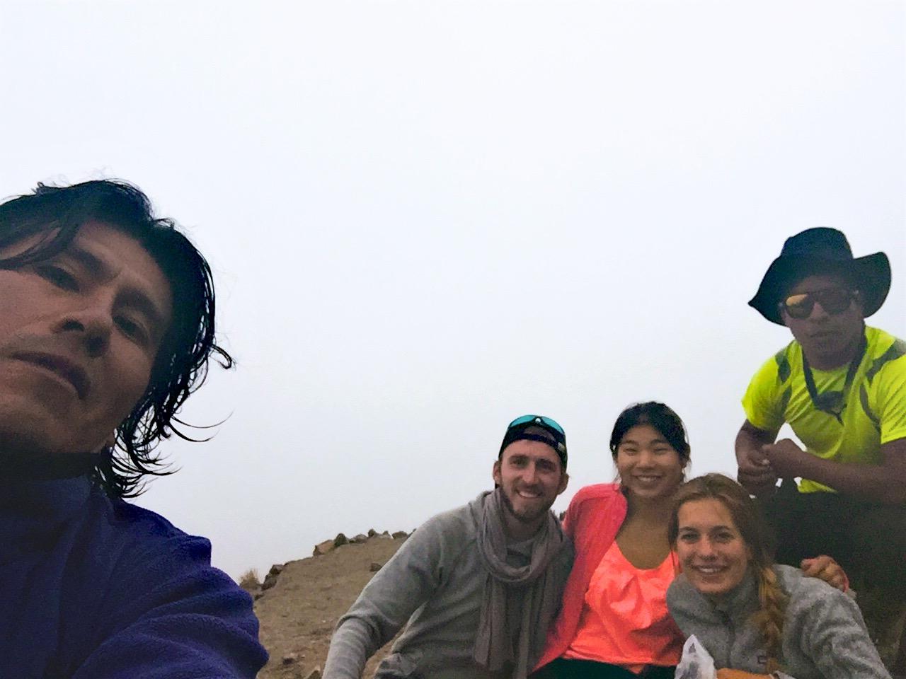 Selfie at Base Camp