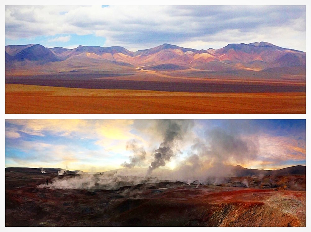You'll pass through stunning landscapes, painted mountains, geysers and so much more! I hope you get to see this incredible place one day.