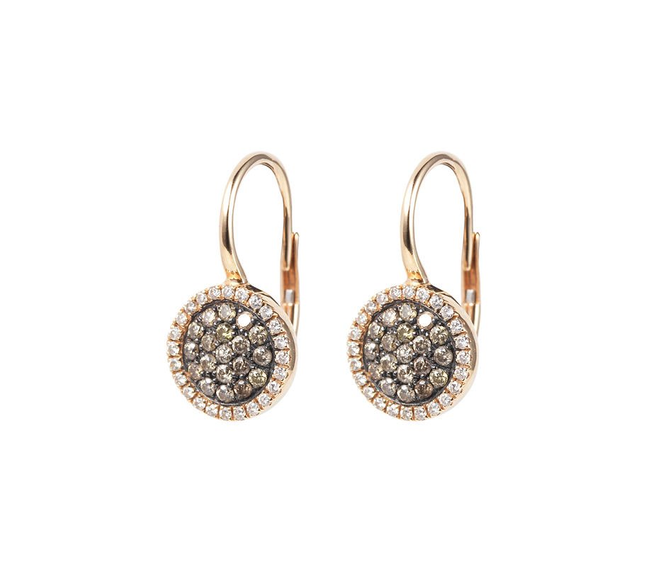 Venezia Rose Gold Drop Earrings