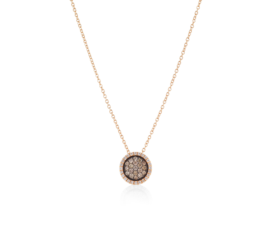 Venezia Rose Gold Pendant – Small