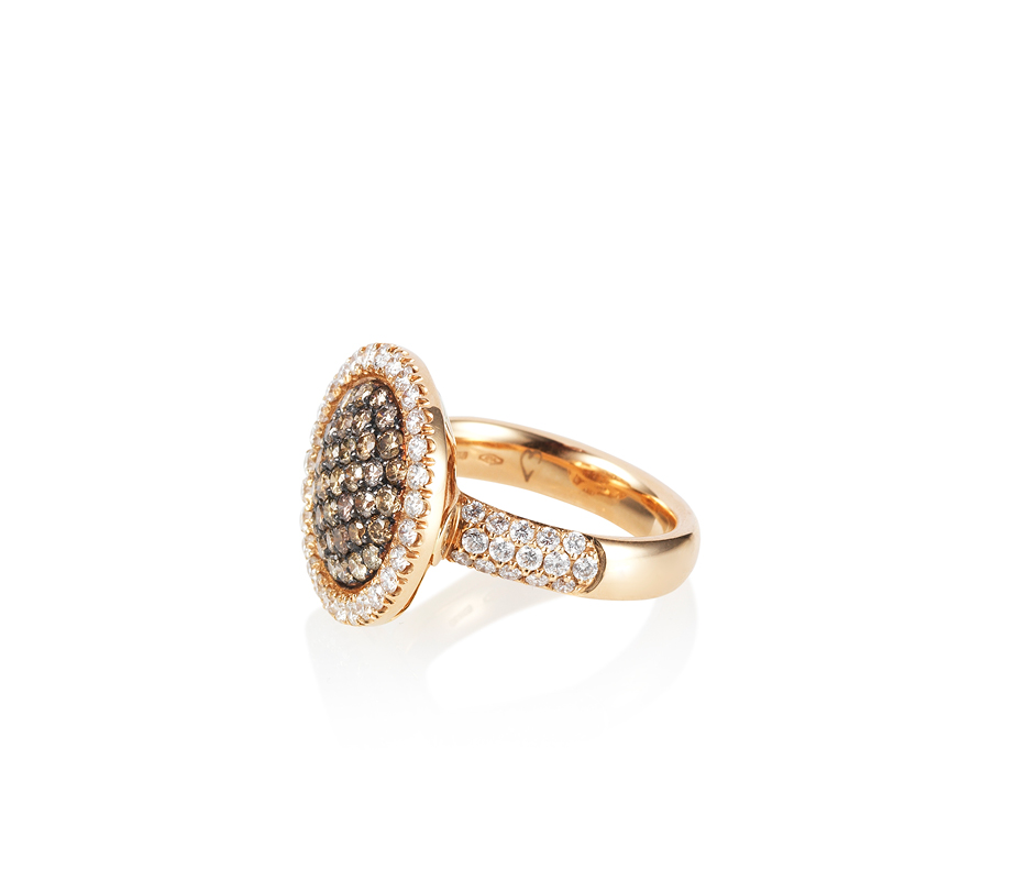 Venezia Rose Gold Ring – Medium