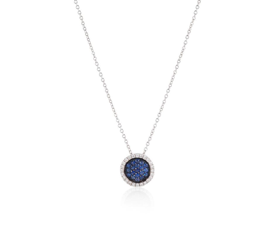 Venezia Sapphire Pendant – Small