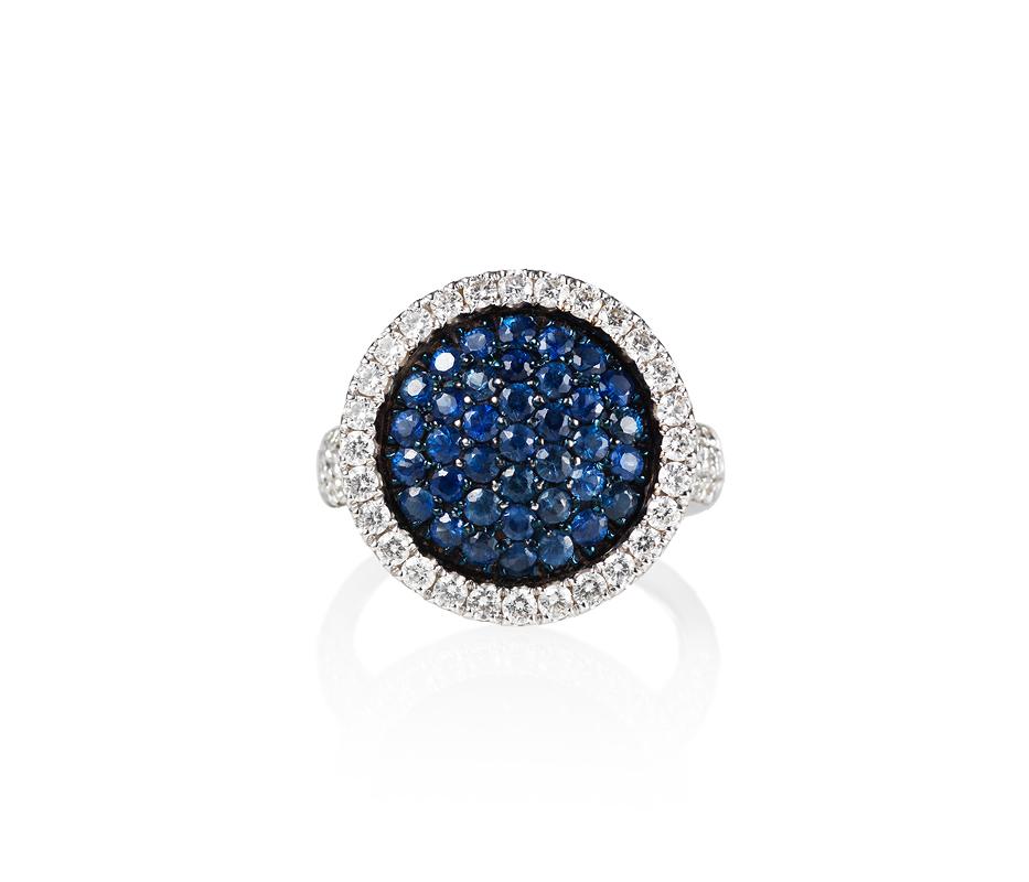Venezia Sapphire Cocktail Ring