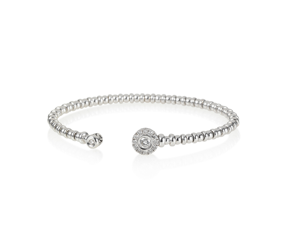 Diamond Open Flexi Bracelet