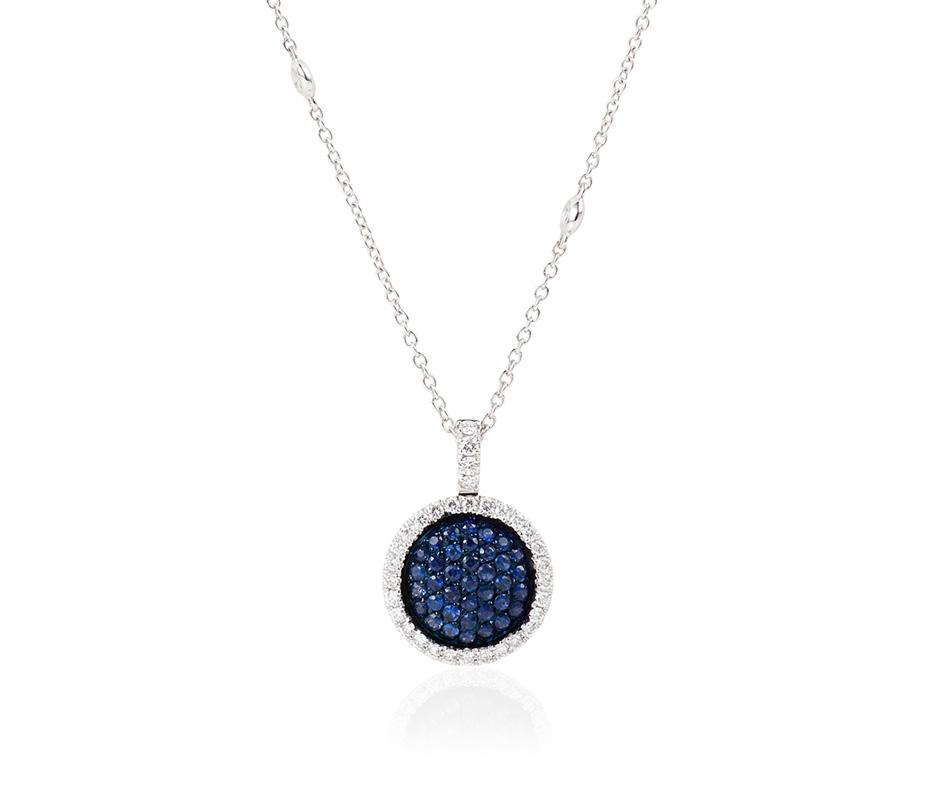 Venezia Sapphire Pendant –Medium