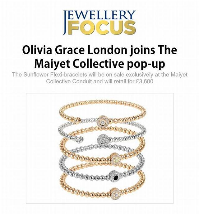 Thanks to Jewellery Focus for featuring our exciting news! 💎👉🏼 Read more about our collaboration with the highly anticipated @theconduitlondon & Maiyet Collective, at jewelleryfocus.co.uk