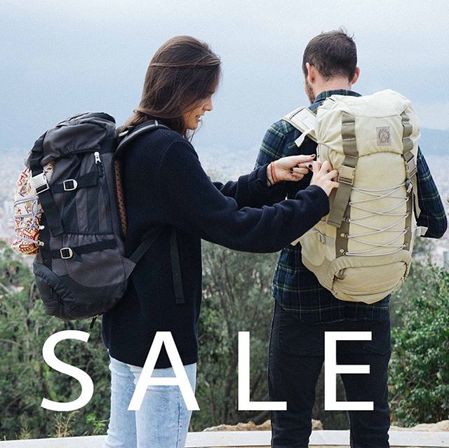 When summer comes to an end it is time to plan the next big trip! We are giving a massive discount of 50% on our backpacks! Be quick to get the right gear for your next adventures and go explore!