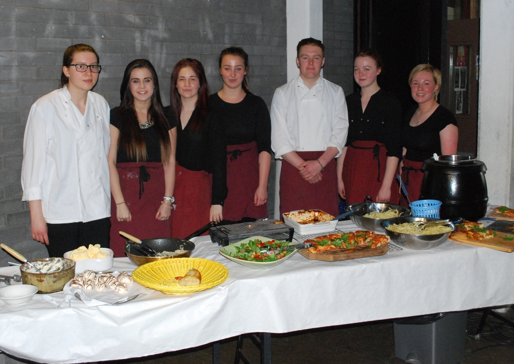 <b>BTEC Hospitality</b><br/>Italian lunch for staff