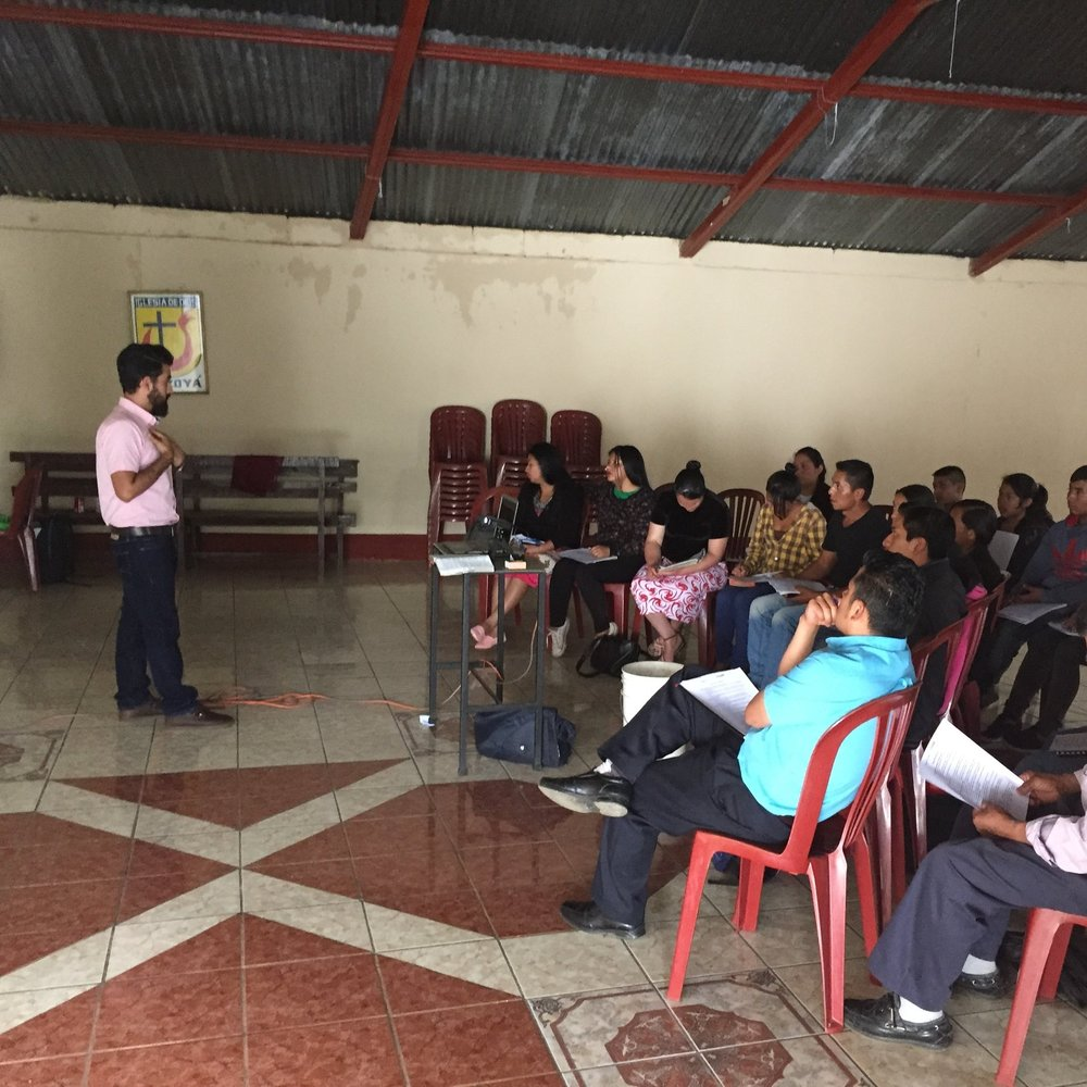 Leadership Training - We work with the local church to advance God's Kingdom through discipleship and meeting the needs of the communities. We do this by training Pastors and leaders with passionate hearts.