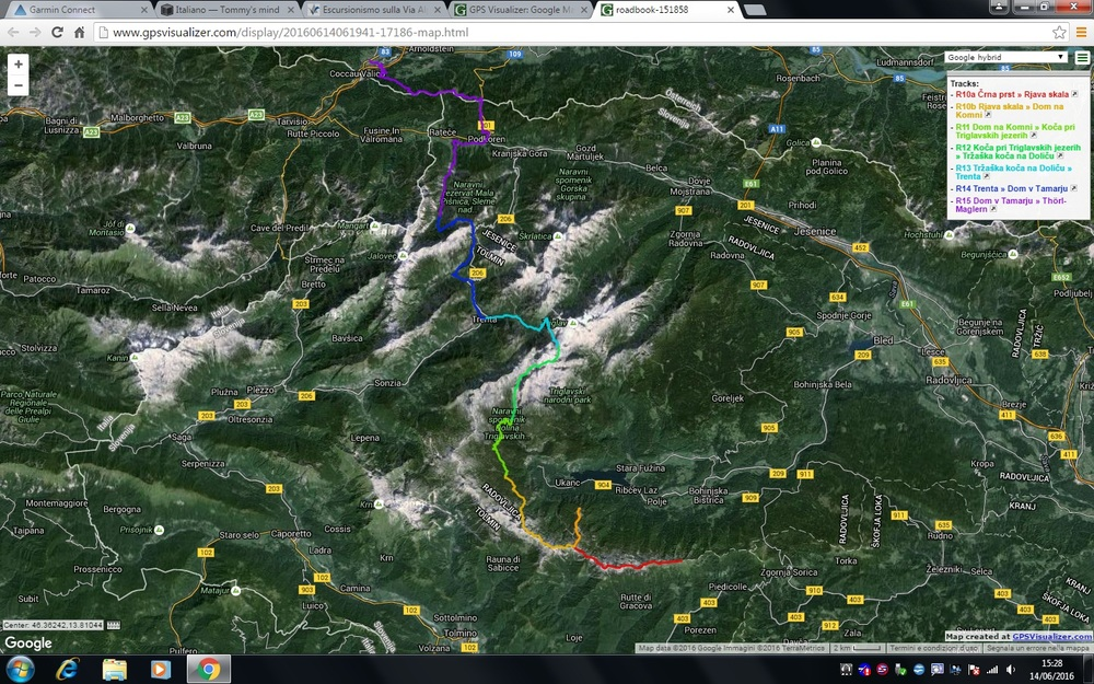 Sezione Slovena della Via Alpina completata