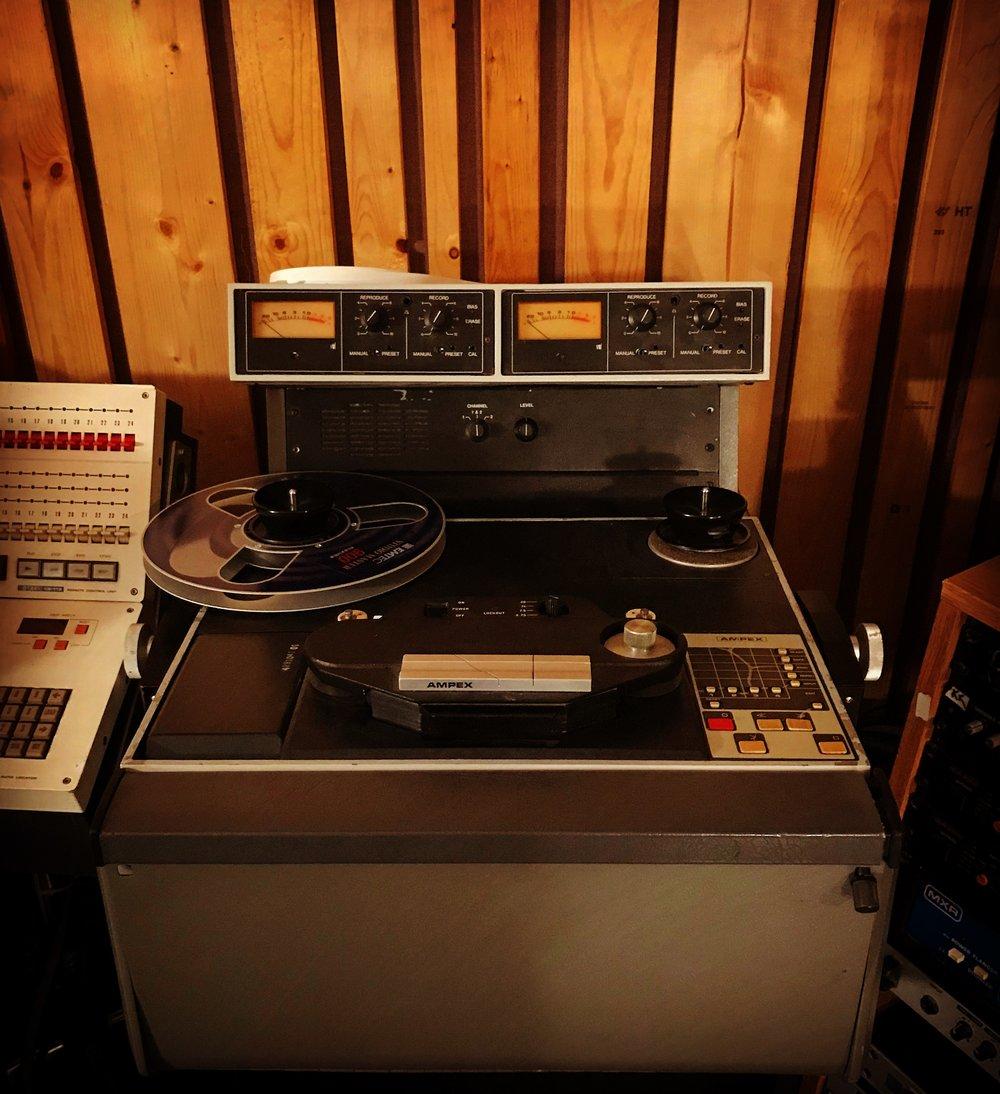"""Ampex 102 1/2"""" Tape Machine"""