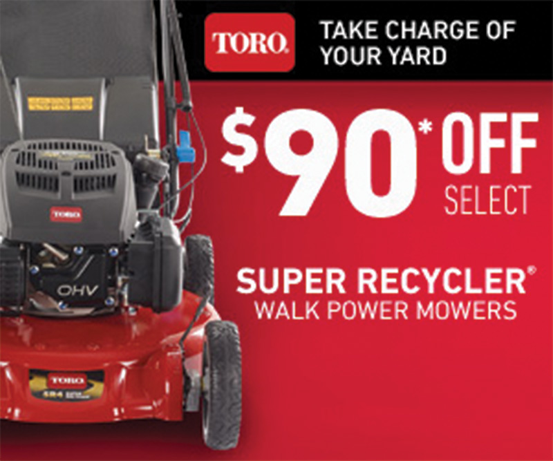 Toro Super Recycler on Sale now!