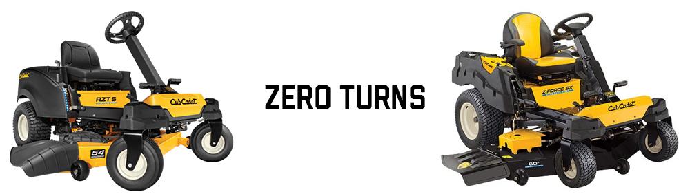 Cub Cadet Zero Turns