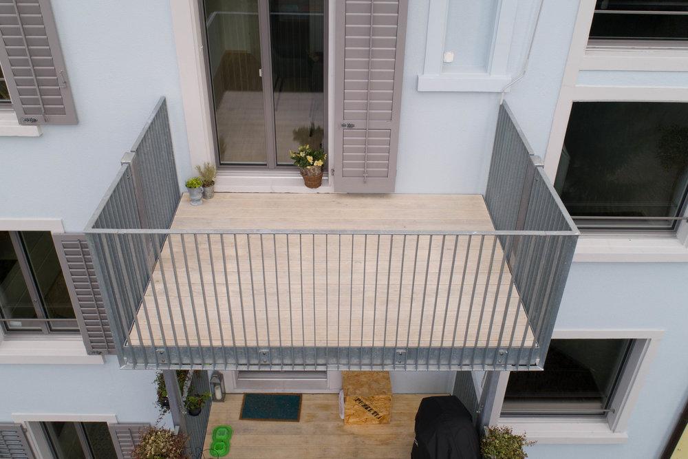Balkone n der Limmat