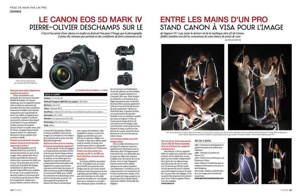 Magazine PHOTO novembre 2016
