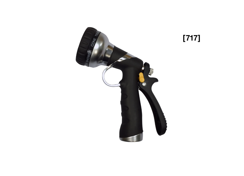 [ 717 ] 8 Way AlumAlloy Garden Nozzle