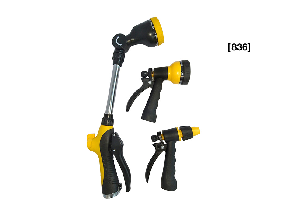3-Piece Adjustable Wand, Nozzle & Twist Nozzles [ 836 ]