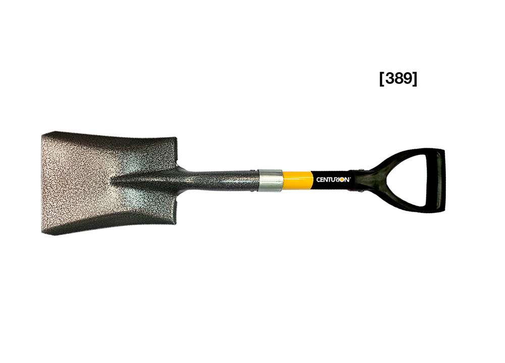 Shorty Shovel D-Grip Square Point Shovel  [ 389 ]