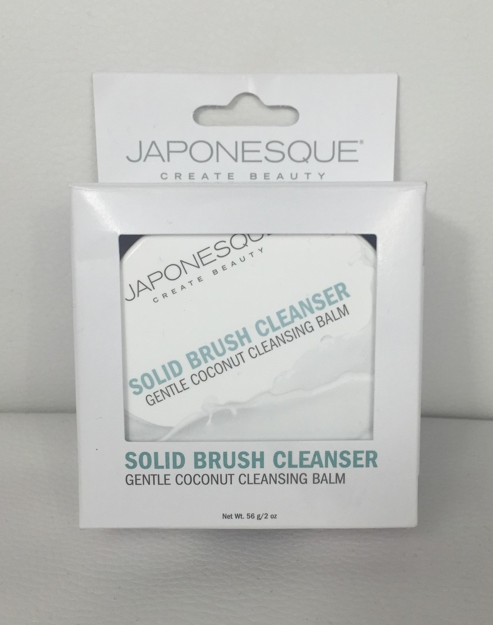 Japonesque Solid Brush Cleanser - Gentle Coconut Cleansing Balm