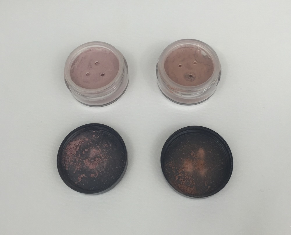 iQ Naturals Mineral Bronzers in Radiant Rose (left) & Natural Touch (right)