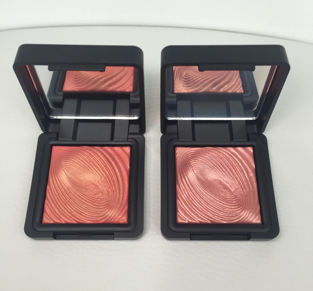 Kiko Water Eyeshadows in 218 Grapefruit Pink & 219 Flamingo Pink