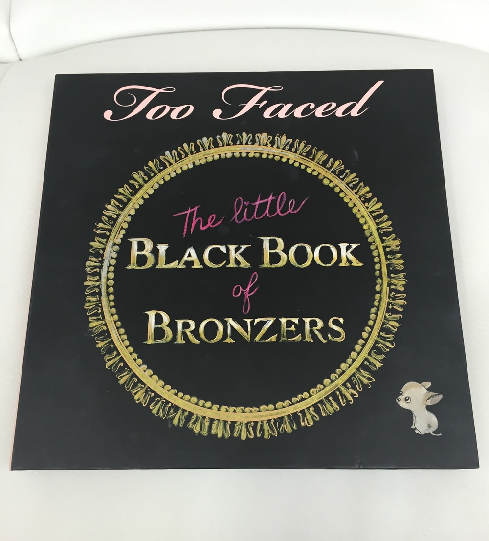 Too Faced The Little Black Book of Bronzers - Front Cover