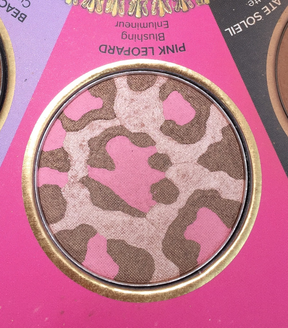 Too Faced The Little Black Book of Bronzers - Pink Leopard