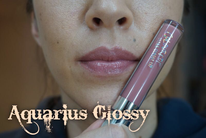 ColourPop Aquarius Glossy Lip Swatch