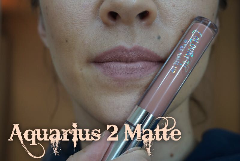 ColourPop Aquarius 2 Matte Lip Swatch