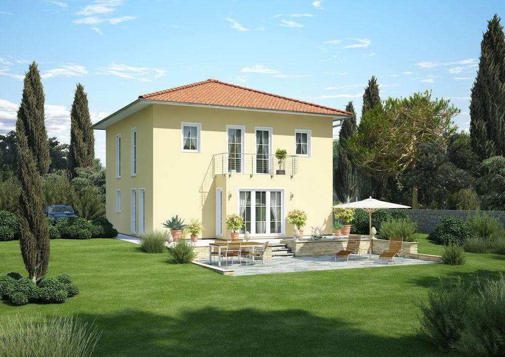 Beispiel Stadtvilla, mediterran im Victoriaviertel