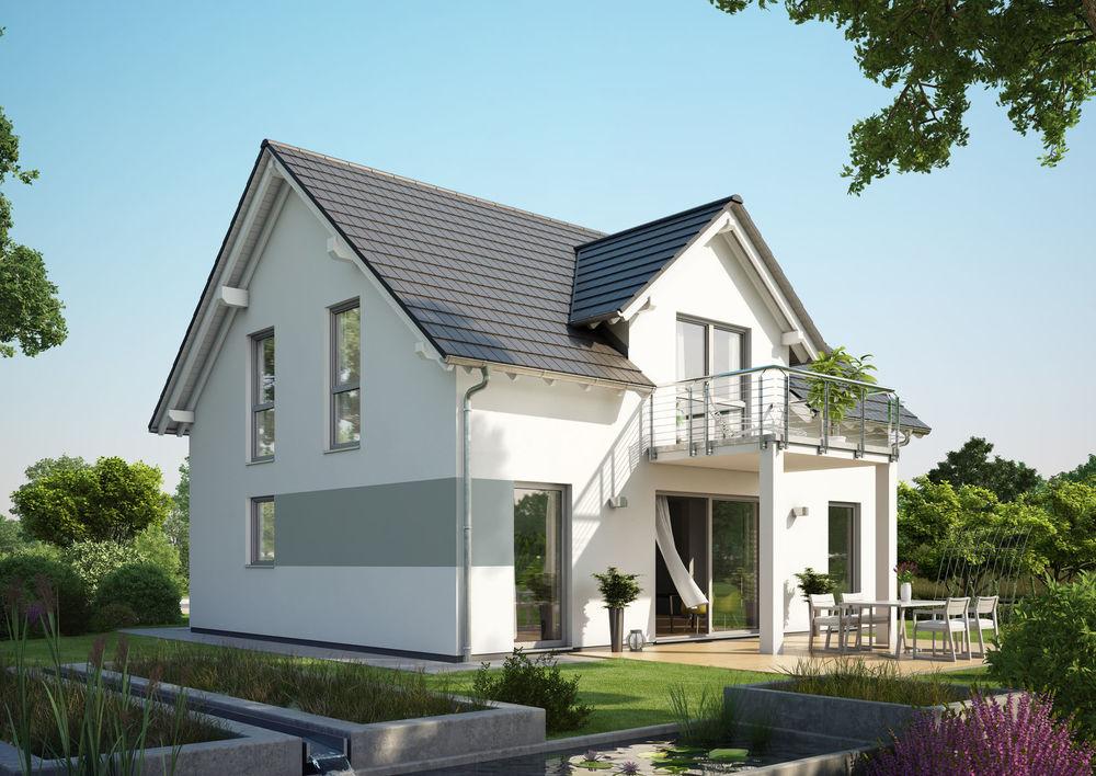 Beispiel Familienhaus mit Satteldach im Victoriaviertel