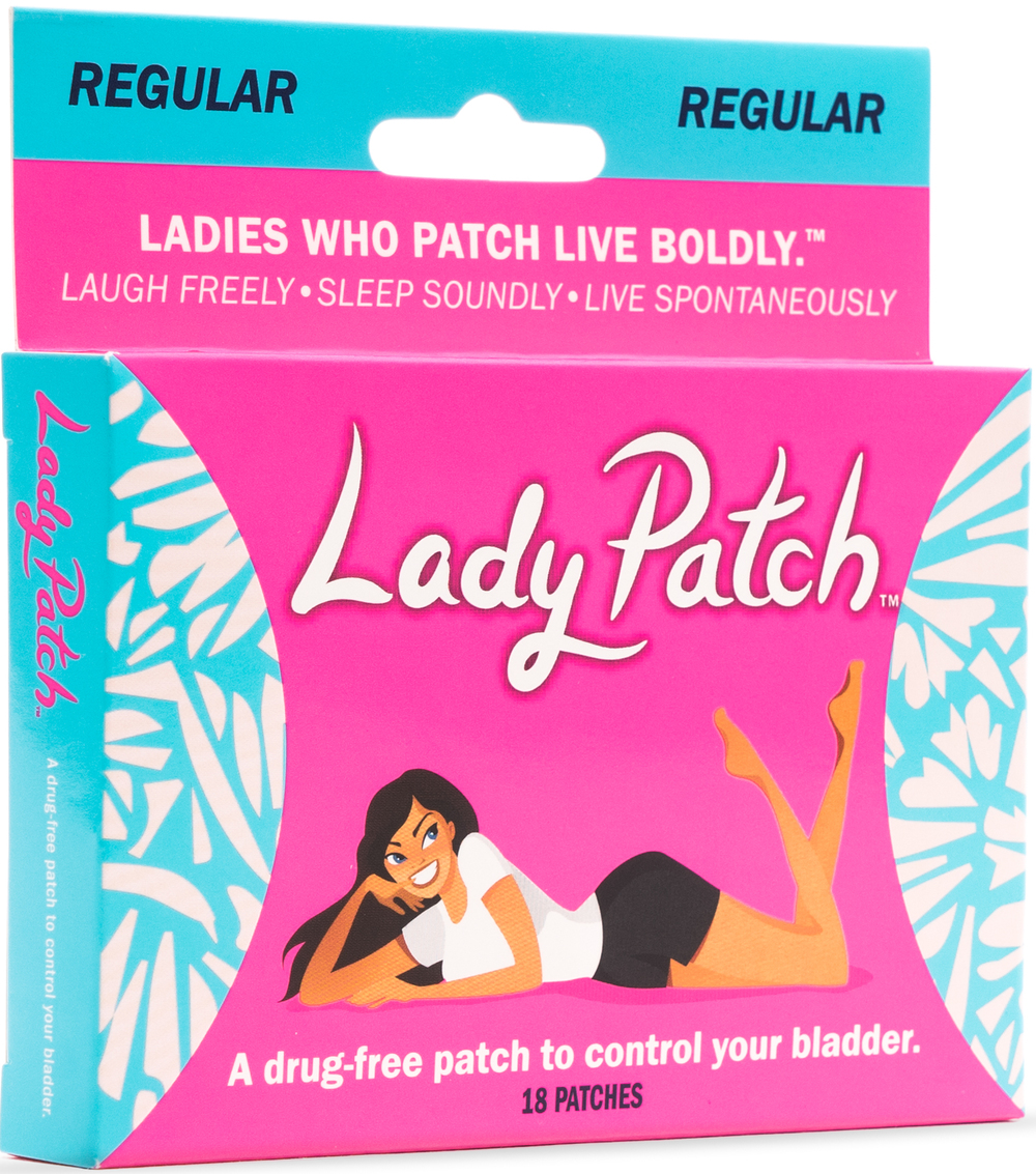 Lady Patch™ Regular   Try Active For   •Running/Walking •Yoga •Dancing •Working Out •Shopping