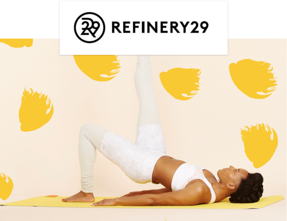 Pilates Angel x Refinery29