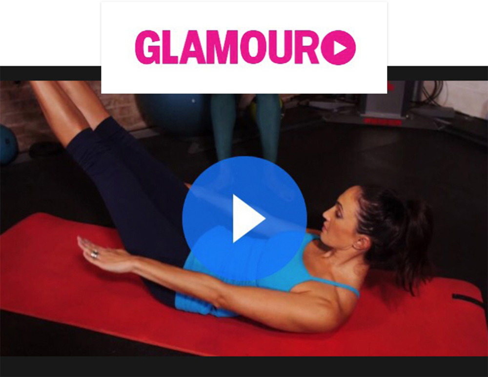 Glamour Magazine Victoria's Secret Angel Workout Videos