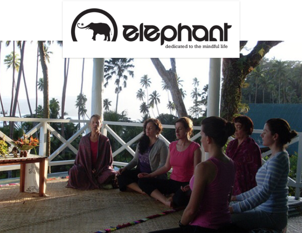 Elephant Journal Article: 5 Reasons to Book a Wellness Retreat — Sept 2015