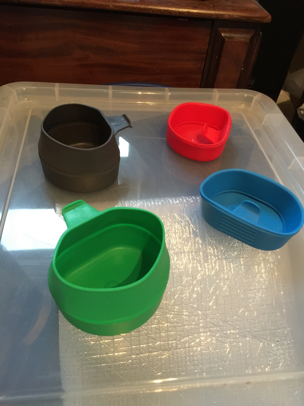 """A """"clutter"""" of Cups"""