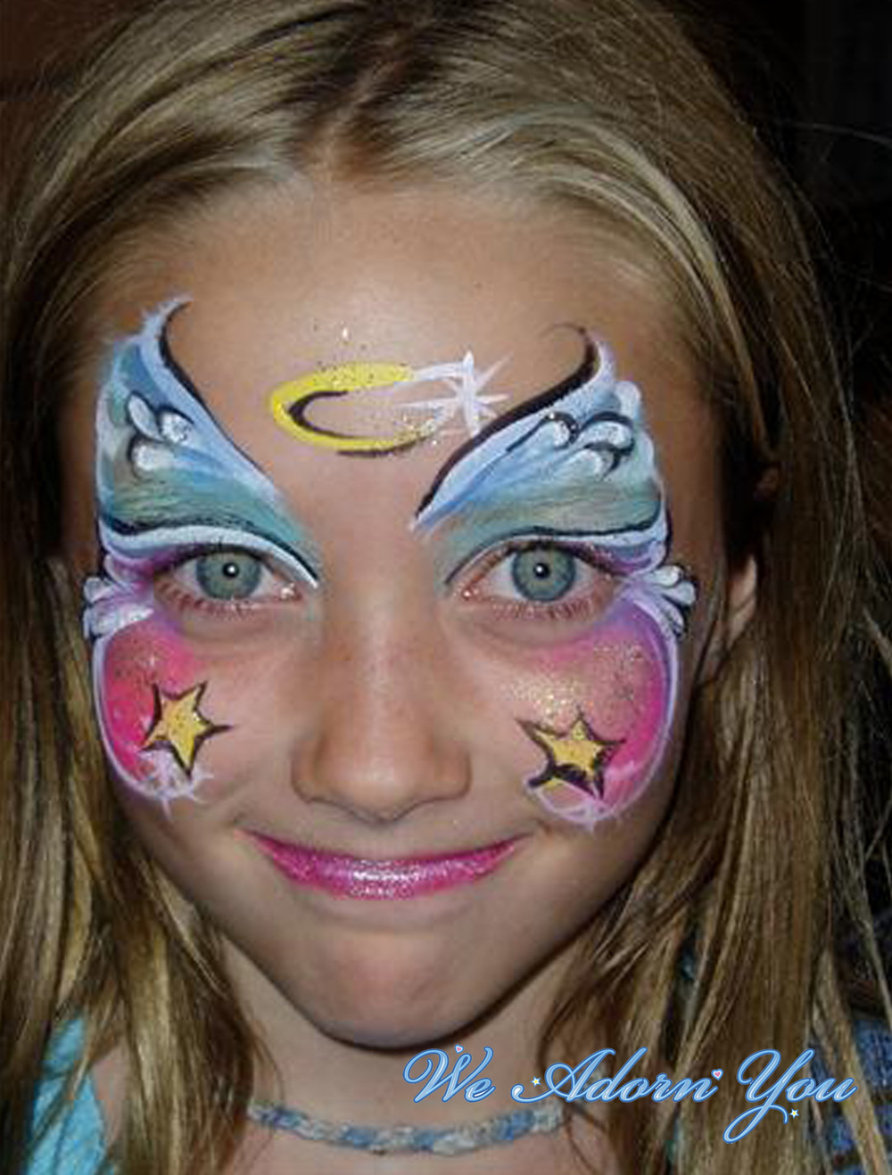 Face Painting Angell- We Adorn You.jpg
